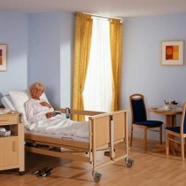Care bed with Decubitus treatment for rent